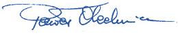 Paweł Olechnowicz's signature