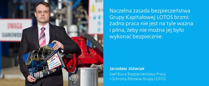 Jarosław Jóźwiak - wypowiedź
