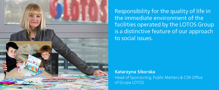 comment - Katarzyna Sikorska,  Head of Sponsoring, Public Matters and CSR Office